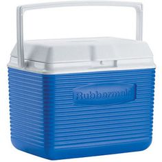 Rubbermaid FG2A1104MODBL 10 Quart Pacific Blue Victory Personal Cooler