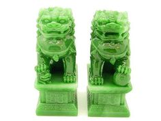 Feng Shui Classical Protection Symbol - Metal Fu Dogs - Feng Shui Tips