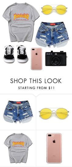 """""""Trasher"""" by freshleeel ❤ liked on Polyvore featuring Belkin and Holga"""
