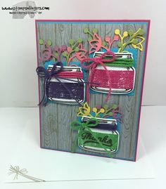 Everyday Jar of Love Thanks by Stamps-n-lingers - Cards and Paper Crafts at Splitcoaststampers