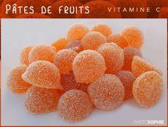Pâtes de fruits aux agrumes