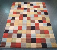 mondrian mon25 multi-coloured image 1 Modern rugs