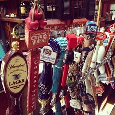 Tons of new #craftbeer taps for you... #cherrywheat #kona #redwagon #drinklocal #drinkbeersavewater