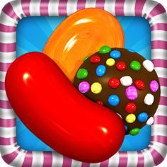 Candy Crush is a social gaming app is an addictive match 3 puzzle game that has gain huge popularity