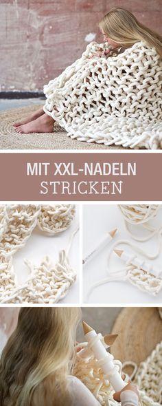 DIY-Anleitung: Extreme Knitting - Dein Trend für den Winter / DIY tutorial: extreme knitting - your trend this winter season via DaWanda.com