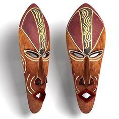 African mask 3 Interiors  3D Models