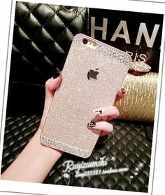 FREE SHIPPING Bling Champagne iphone 6 plus case by ImageCase