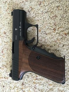 H&K P7M8 Chantilly HK P7 M8 Nill grips Spare part : Semi Auto Pistols at…
