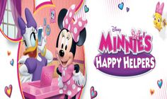 Minnie's Happy Helpers has Daisy and Minnie working a temp agency where they are willing to help their friends with all kinds of different problems