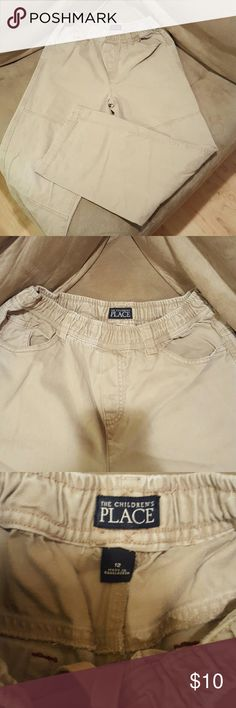 Children's Place Khaki Pants - great used condition, no visible signs of wear  - elastic waist Children's Place Bottoms Casual