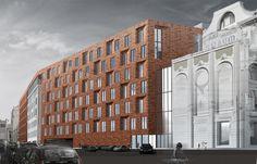 'Pushkinsky sad' multifunctional complex : Sergey Skuratov Architects