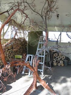The making of. Wire Trees, Art Forms, Nature, Projects, Plus Size, Log Projects, Naturaleza, Off Grid, Natural