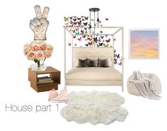 """Bed room"" by orangejuicehamm on Polyvore featuring interior, interiors, interior design, home, home decor, interior decorating, Nearly Natural, Hinkley Lighting and Converse"
