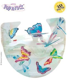 Pretty Insects - Popnrock™ 3D cards from Santoro London
