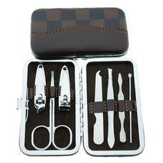 Nail Tools 7pcs/Set clipper, diagonal nail clipper, eyebrow scissor