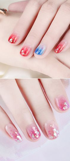 Twinkle sequins #nailart,four colors to select, try the glitter nails soon in #bornpretty.