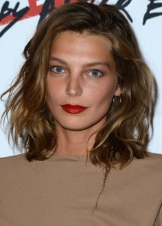 Daria Werbowy: just color, at the moment i want longer hair :)