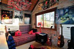 Dicas para decorar quarto no estilo roqueiro. Garotas, rock n' roll, roqueiras, punk, tendencia, decoração de quarto, bedroom, bed, cama