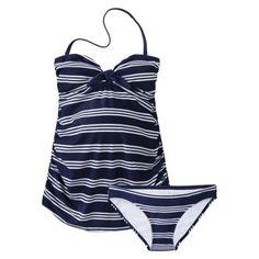 63cf00c75b Liz Lange® for Target® Maternity Stripe 2 pc. Swimsuit Target Maternity,  Post