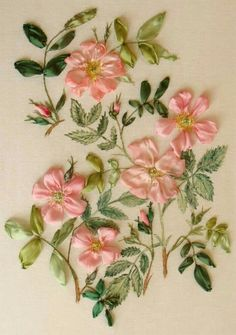 "Ribbon Blessings~""Hattie's Embroidery Blessings""~"