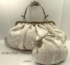 Wedding Clutches and Bridal Bags  Cluth brocado vintage,LolitaSalá, Bolsos y carteras, Bolsos, Bodas, Bolsos, Comuniones, Detalles de comunión