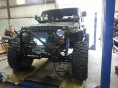 Jeep JKU Rubicon Frog 1 Build at Clayton Off Road Mfg. - Almost done.