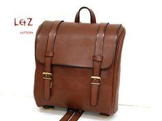 PDF bag patterns bag sewing patterns Rucksack by LZpattern $10.00