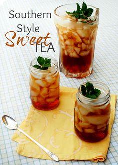 A Clove of Garlic, A Pinch of Salt: Sweet Tea -- A Taste of the South