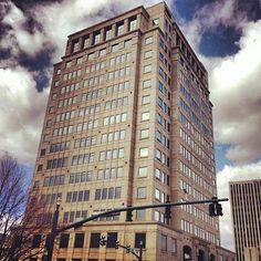 Wells Fargo building pic by Tone Deaf Voice #ColoradoSprings, #Colorado. For local website design and social media marketing, visit 720MEDIA http://www.720media.com