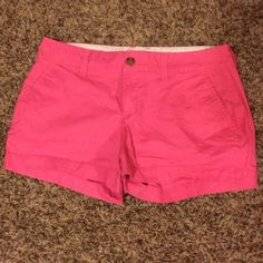 Old Navy shorts Woman's shorts size 2, no holes or tears, super cute color! Hardly been worn Old Navy Shorts