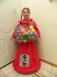 Gumball Machine Costume!                                                                                                                                                                                 More