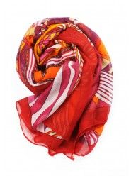Brighter Than Sunshine Scarf In Red  $22.00