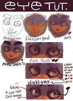 Someone asked for an eye tutorial but it kind of turned into a paint tut, woops.