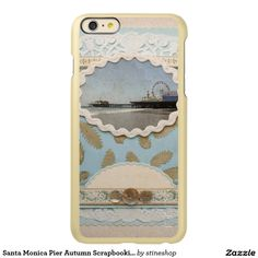 Santa Monica Pier Autumn Scrapbooking Incipio Feather® Shine iPhone 6 Plus Case