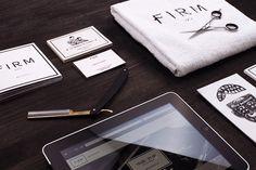 FIRM Barbershop #branding #identity #design