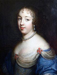 Marie-Louise Pot de Rhodes, Duchesse de Vitry attributed to Charles Beaubrun