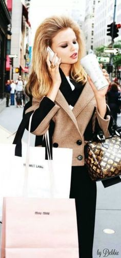Shopping with Magdelena Frackowiak ~ Debbie ❤