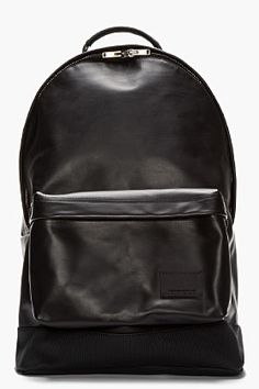 Black Ultra Backpack | Pebbled leather, UX/UI Designer and Leather ...