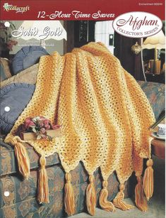 Solid Gold Afghan Collector's Series The by KnitKnacksCreations