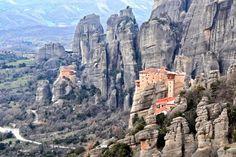 Monasterio de Meteora, Grecia