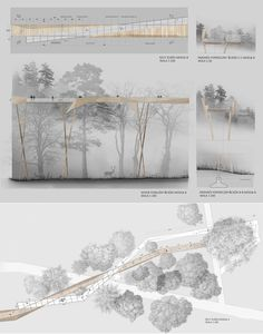 Aquí tenéis otro ejemplo de presentación para vuestras pasarelas.  El proyecto es de Magda Bykowska.