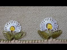 Easy and showy needle lace making audio narration (needle lace model example) - Life Style Crochet Flower Tutorial, Crochet Flowers, Needle Lace, Needle And Thread, Helly Hansen, Easy Crafts, Diy And Crafts, Viking Tattoo Design, Sunflower Tattoo Design