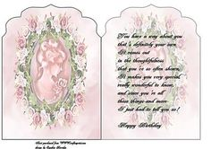 cameo card insert on Craftsuprint designed by Cynthia Berridge - cameo card insert - Now available for download!