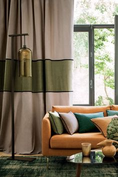 bedroom blinds and curtains * bedroom blinds ; bedroom blinds and curtains ; bedroom blinds and curtains ideas Curtain Styles, Curtain Designs, Drapery Styles, Home Curtains, Curtains With Blinds, Bedroom Blinds, Casamance, Beautiful Curtains, Custom Drapes