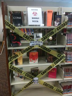 Banned Books Week Display Idea