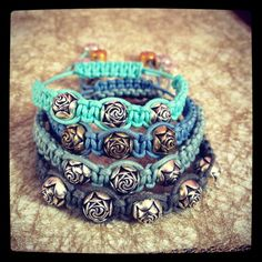 Riley rose bracelets  #armcandy #armparty #jewellery #blue