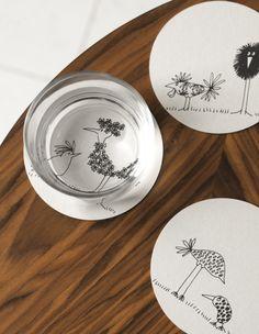 Para marcar as mesas (apenas) com humor.  #decoração #ikeaportugal