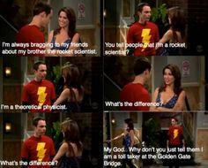not a rocket scientist Big Bang Theory Funny, Big Bang Theory Quotes, Big Bang Theory Zitate, Tv Quotes, Funny Quotes, Funny Scenes, Nerd Love, Cinema, Cultura Pop