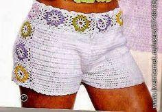 Mis creaciones 25: Short Tejido a Crochet (Apeticion)