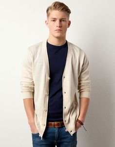 Cardigans are a great way to add layers to a guy's outfit. #MensFashionTrendy